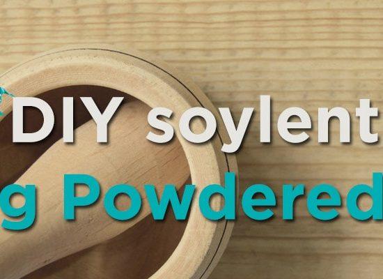 DIY soylent versus Buying Powdered Food