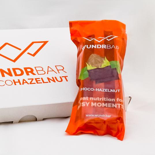 WundrBar Dark Chocolate Hazelnut