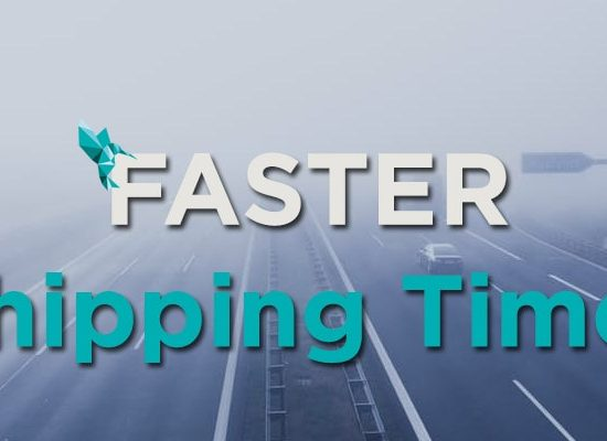 Faster Shipping Times