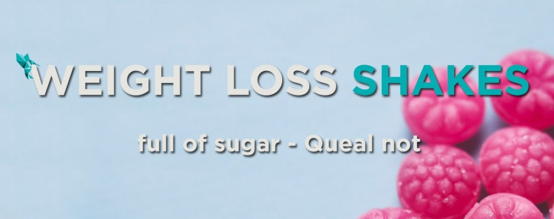 Weight loss shakes full of sugar Header